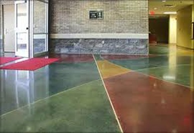 commercial interior floor