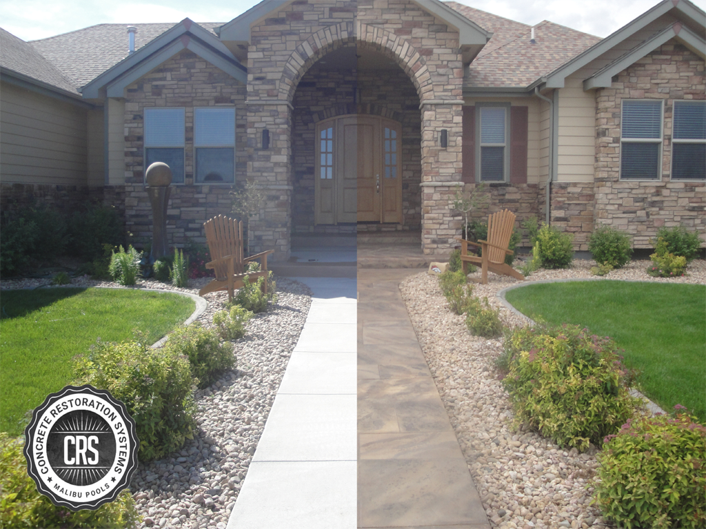 driveway resurfacing decorative concrete denver driveway repair. Black Bedroom Furniture Sets. Home Design Ideas