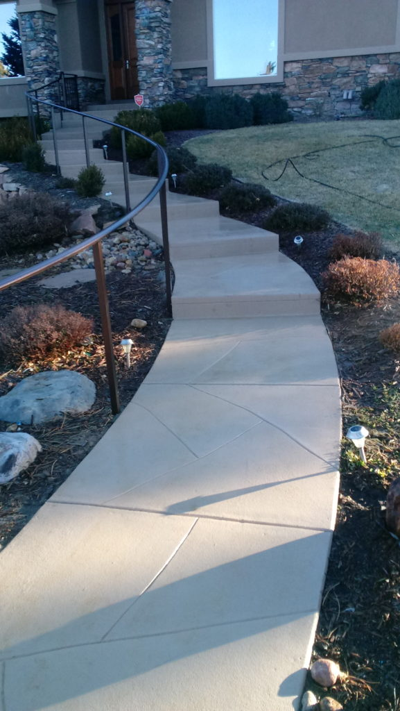 Cracking and Settling Walkways and Entryways - Finished